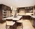 ice house slab-maple-standard stain-kitchen-merit