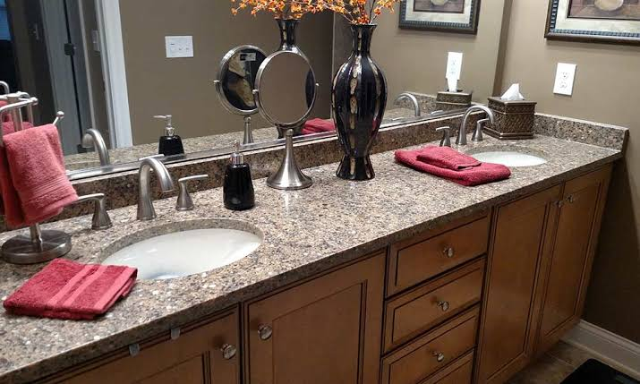discount Quartz bathroom countertops