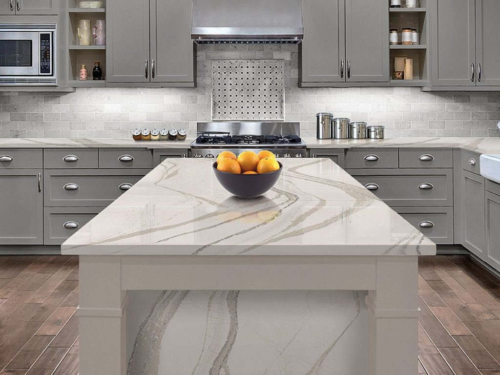 Kitchen Countertops in Quartz in Salt Lake City